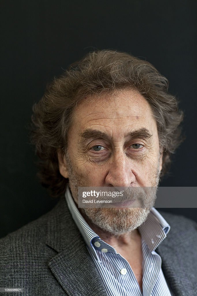 Howard Jacobson , author of the 2010 Man Booker Prize winning novel, 'The Finkler Question', poses for a portrait at the Cheltenham Literature Festival on October 16, 2010 in Cheltenham, England.