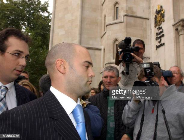 Howard Johnston former partner of Natallie Evans from Trowbridge Wiltshire outside London's High Court where the judge rejected a challenge by Ms...