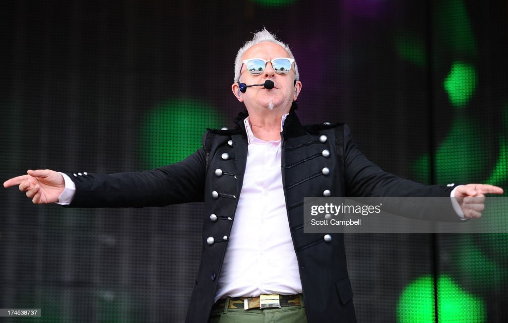 Howard Jones performs on stage on Day 2 of Rewind Festival 2013 at Scone Palace on July 27, 2013 in Perth, Scotland.