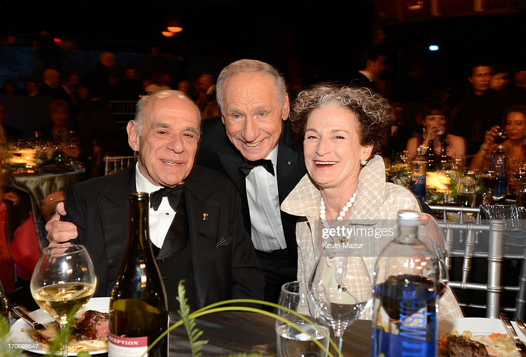 Howard Kaminsky, honoree Mel Brooks and Madeline Morel during AFI's 41st Life Achievement Award Tribute to Mel Brooks at Dolby Theatre on June 6, 2013 in Hollywood, California. 23647_004_KM_0697.JPG