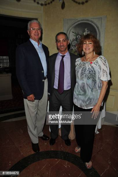 Howard Katz Dr Roy Brooady and Phyllis Green attend Dinner party to celebrate The Child Mind Institute's 2010 Adam Jeffrey Katz Memorial Lecture...