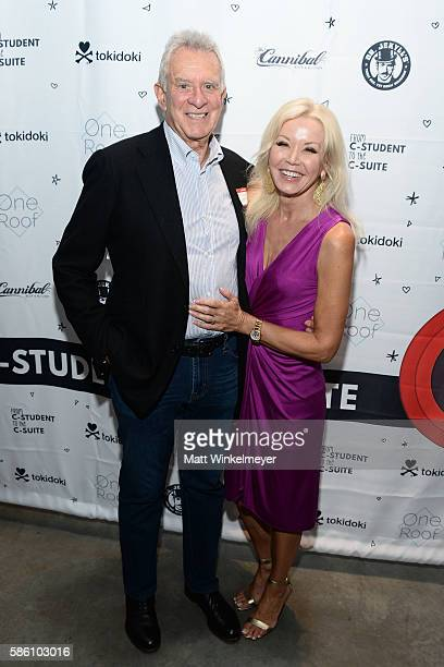 Howard Keyes and Margie Keyes attend the book launch for 'From CStudent to the CSuite Leveraging Emotional Intelligence' at PLATFORM in Hayden Tract...