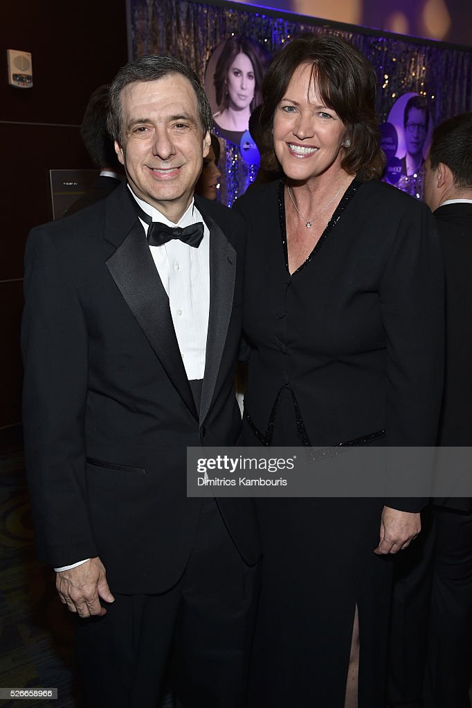 Howard Kurtz (L) and Christine Brennan attend the Yahoo News/ABC News White House Correspondents' Dinner Pre-Party at Washington Hilton on April 30, 2016 in Washington, DC.