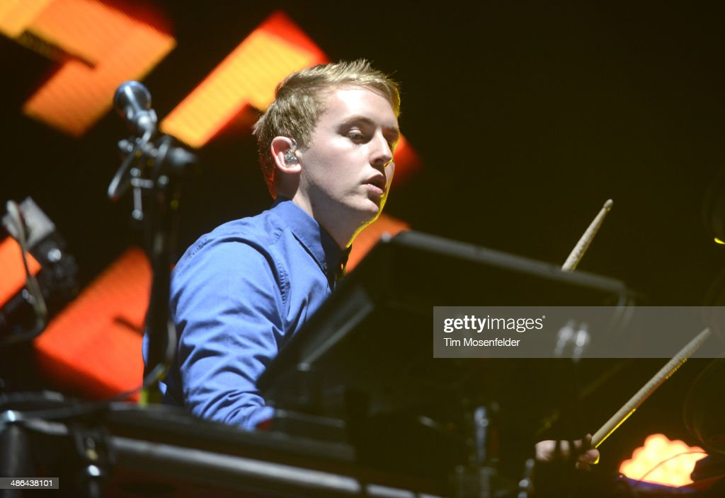 Howard Lawrence of Disclosure performs as part of the Coachella Valley Music and Arts Festival at The Empire Polo Club on April 20, 2014 in Indio, California.