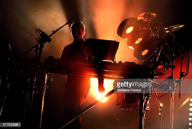 Howard Lawrence of Disclosure performs at Manchester Apollo on March 6 2014 in Manchester England
