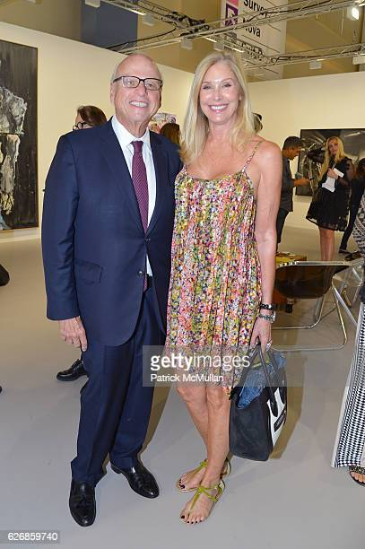 Howard Lorber and Dara Sowell at the Art Basel Miami Beach VIP Preview at Miami Beach Convention Center on November 30 2016 in Miami Beach Florida