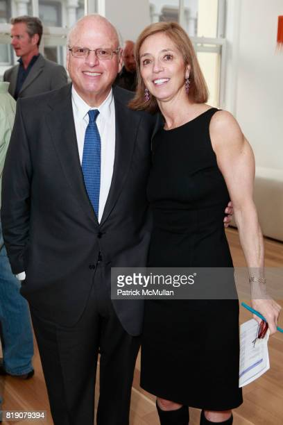 Howard Lorber and Diana Kashan attend 2010 ACE Gala Committee Launch Party at 34 Greene St on March 25 2010 in New York City