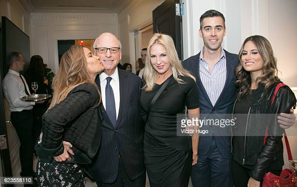 Howard Lorber and group attend Preview of One River Point by Rafael Vinoly at 980 Madison Avenue on November 15 2016 in New York City