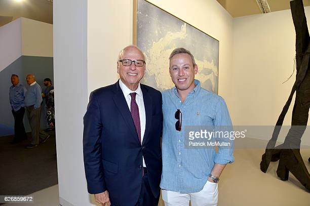 Howard Lorber and Michael Lorber at the Art Basel Miami Beach VIP Preview at Miami Beach Convention Center on November 30 2016 in Miami Beach Florida