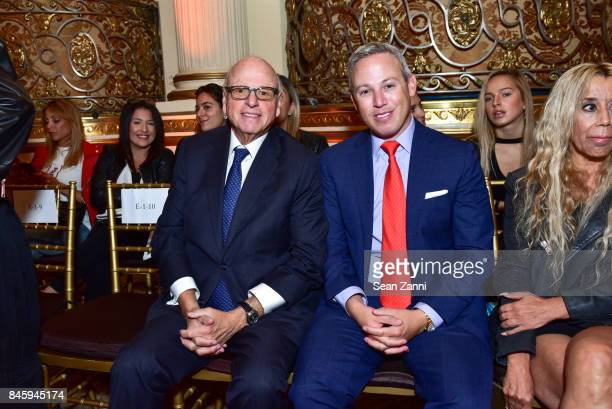 Howard Lorber and Michael Lorber attend the Dennis Basso Spring/Summer 2018 Runway Show during New York Fashion Week at The Plaza Hotel on September...