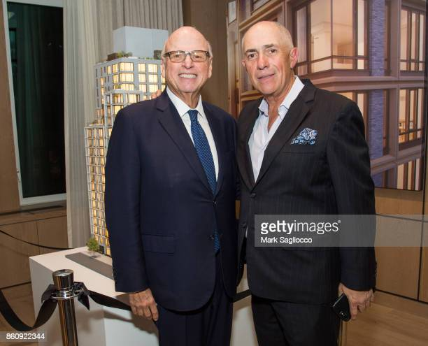 Howard Lorber and Michael Namer attend the Alfa Development Launch Celebration on October 12 2017 in New York City