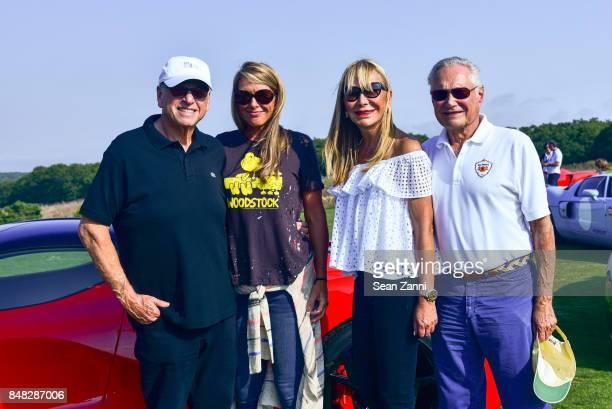 Howard Lorber Susan Bordeau Claudia Walters and Billy Walters attend The Bridge 2017 at the Former Bridgehampton Race Circuiton on September 16 2017...
