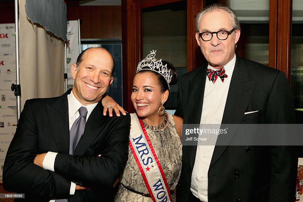 Howard Lutnick, April Lufriu and Tom Keene attend the Annual Charity Day Hosted By Cantor Fitzgerald And BGC at the Cantor Fitzgerald Office on September 11, 2013 in New York, United States.
