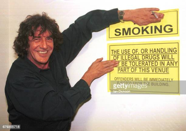 Howard Marks backstage at The Barfly London 19 September 1997