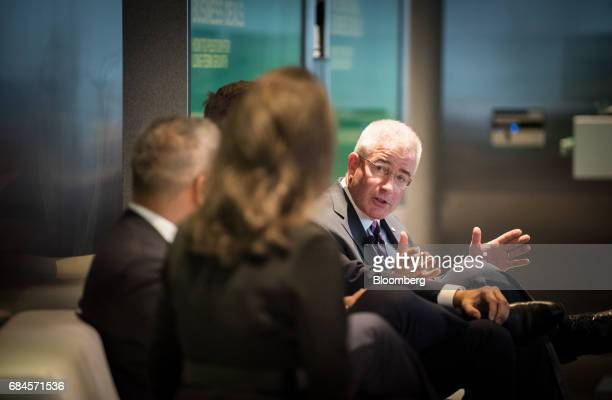 Howard Mills global insurance regulatory leader of Deloitte Touche LLP speaks during 'The Future of International Business Deals How to Position for...