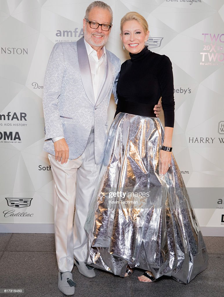 Howard Rachofsky and Cindy Rachofsky host TWO x TWO For AIDS and Art 2016 on October 22, 2016 in Dallas, Texas.