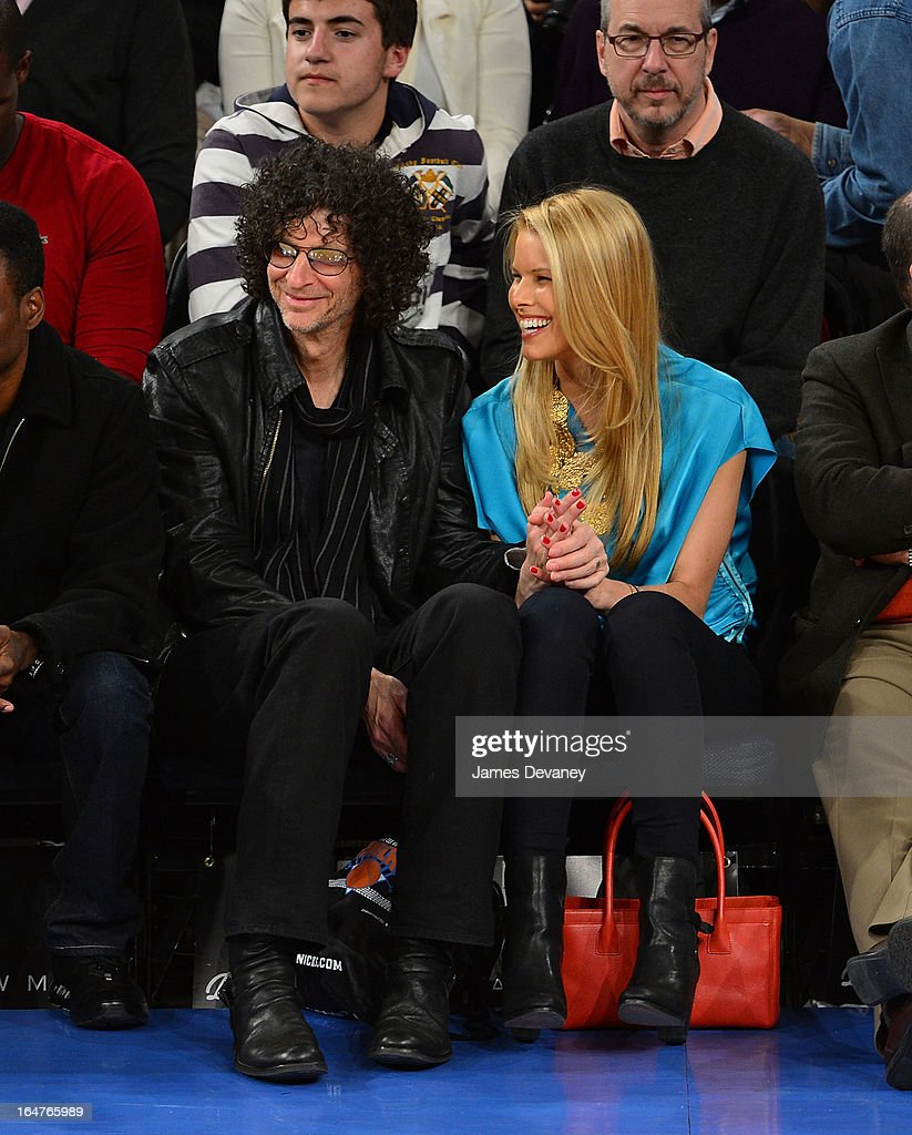 <a gi-track='captionPersonalityLinkClicked' href=/galleries/search?phrase=Howard+Stern+-+Media+Personality&family=editorial&specificpeople=211543 ng-click='$event.stopPropagation()'>Howard Stern</a> and <a gi-track='captionPersonalityLinkClicked' href=/galleries/search?phrase=Beth+Ostrosky&family=editorial&specificpeople=212785 ng-click='$event.stopPropagation()'>Beth Ostrosky</a> Stern attend the Memphis Grizzlies vs New York Knicks game at Madison Square Garden on March 27, 2013 in New York City.