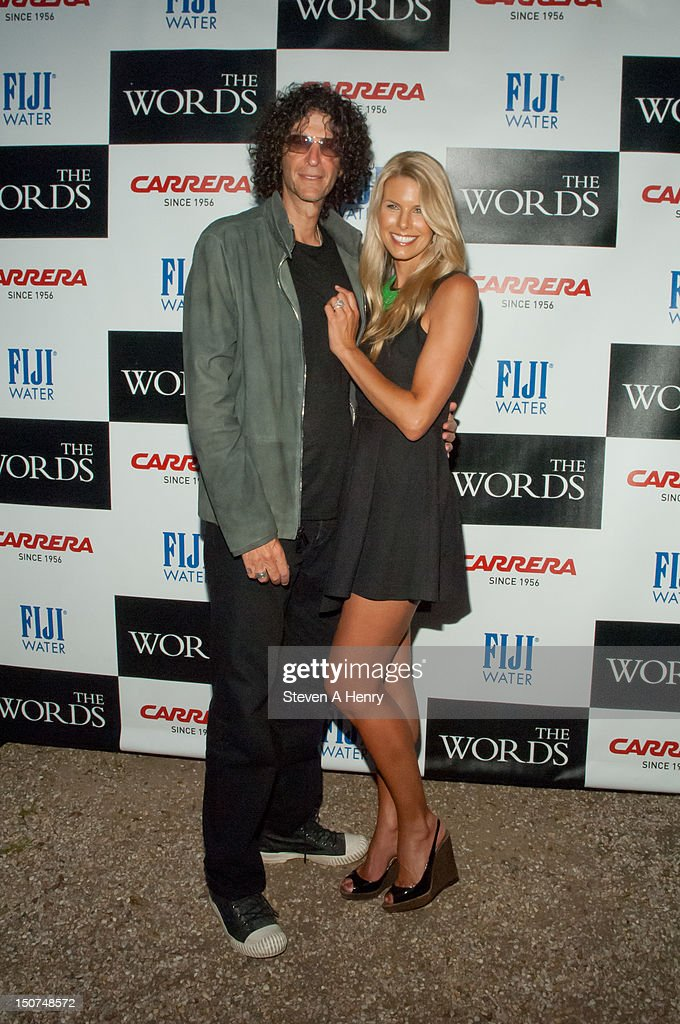 <a gi-track='captionPersonalityLinkClicked' href=/galleries/search?phrase=Howard+Stern+-+Media+Personality&family=editorial&specificpeople=211543 ng-click='$event.stopPropagation()'>Howard Stern</a> and <a gi-track='captionPersonalityLinkClicked' href=/galleries/search?phrase=Beth+Ostrosky&family=editorial&specificpeople=212785 ng-click='$event.stopPropagation()'>Beth Ostrosky</a> Stern attend 'The Words' screening at Goose Creek on August 25, 2012 in East Hampton, New York.