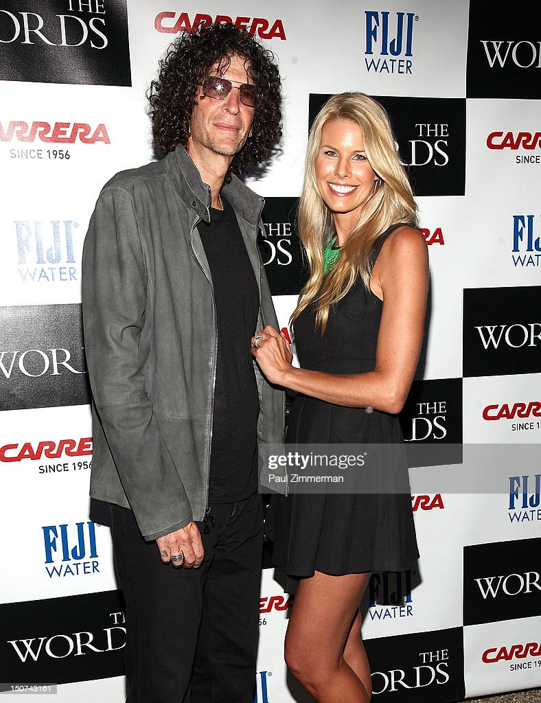 <a gi-track='captionPersonalityLinkClicked' href=/galleries/search?phrase=Howard+Stern+-+Media+Personality&family=editorial&specificpeople=211543 ng-click='$event.stopPropagation()'>Howard Stern</a> and <a gi-track='captionPersonalityLinkClicked' href=/galleries/search?phrase=Beth+Ostrosky&family=editorial&specificpeople=212785 ng-click='$event.stopPropagation()'>Beth Ostrosky</a> Stern attends 'The Words' screening at Goose Creek on August 25, 2012 in East Hampton, New York.