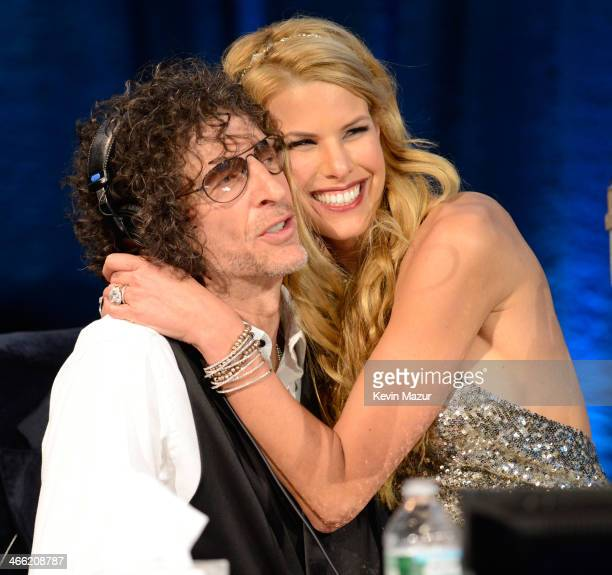 Howard Stern and Beth Stern attend 'Howard Stern's Birthday Bash' presented by SiriusXM produced by Howard Stern Productions at Hammerstein Ballroom...