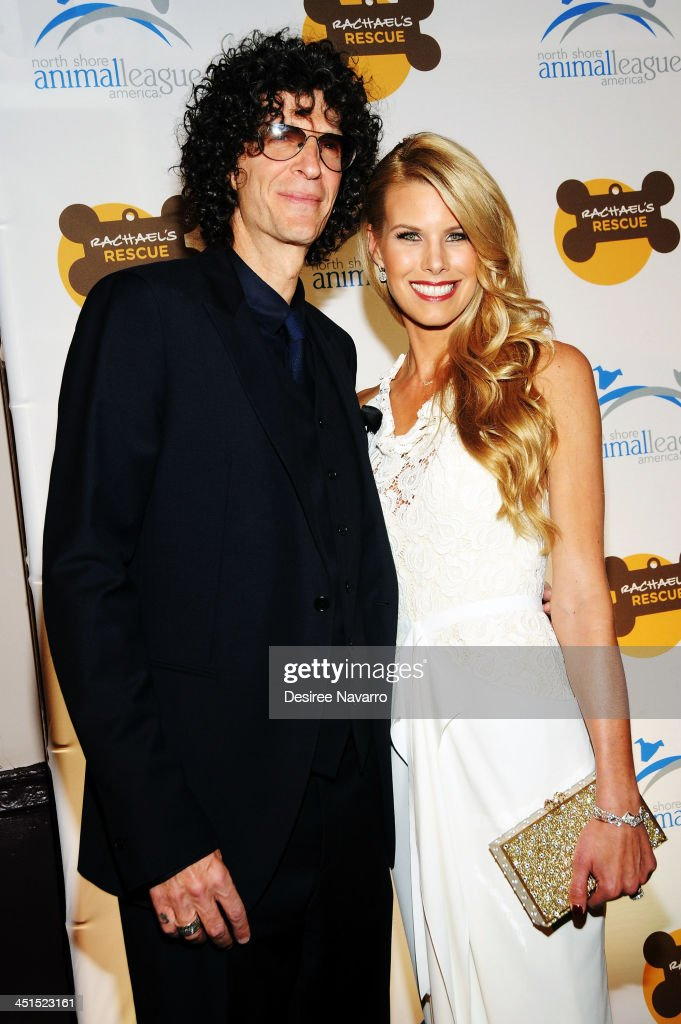 Howard Stern and Beth Stern attend the 2013 Animal League America Celebrity gala at The Waldor Astoria on November 22 2013 in New York City