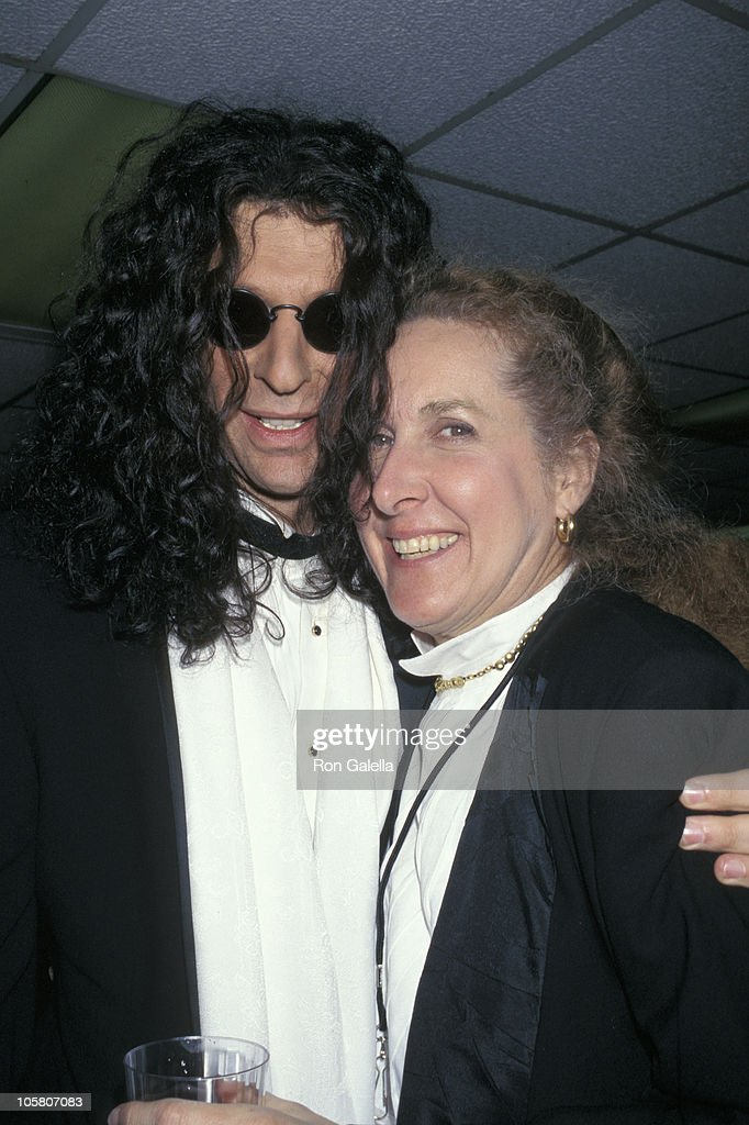 Howard Stern and Betty Thomas during 'Private Parts' New York City Premiere at Madison Square Garden in New York City New York United States