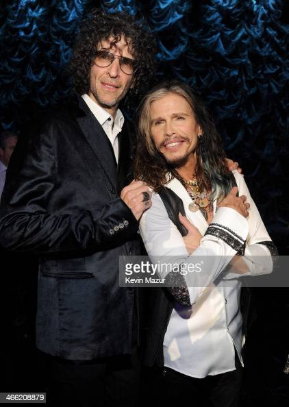 Howard Stern and Steven Tyler attend 'Howard Stern's Birthday Bash' presented by SiriusXM produced by Howard Stern Productions at Hammerstein...