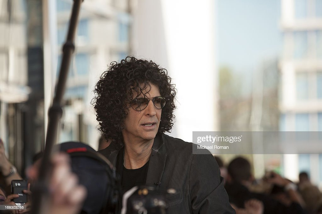 Howard Stern attends 'America's Got Talent' Season 8 Meet The Judges Red Carpet Event at Akoo Theatre at Rosemont on May 8, 2013 in Rosemont, Illinois.