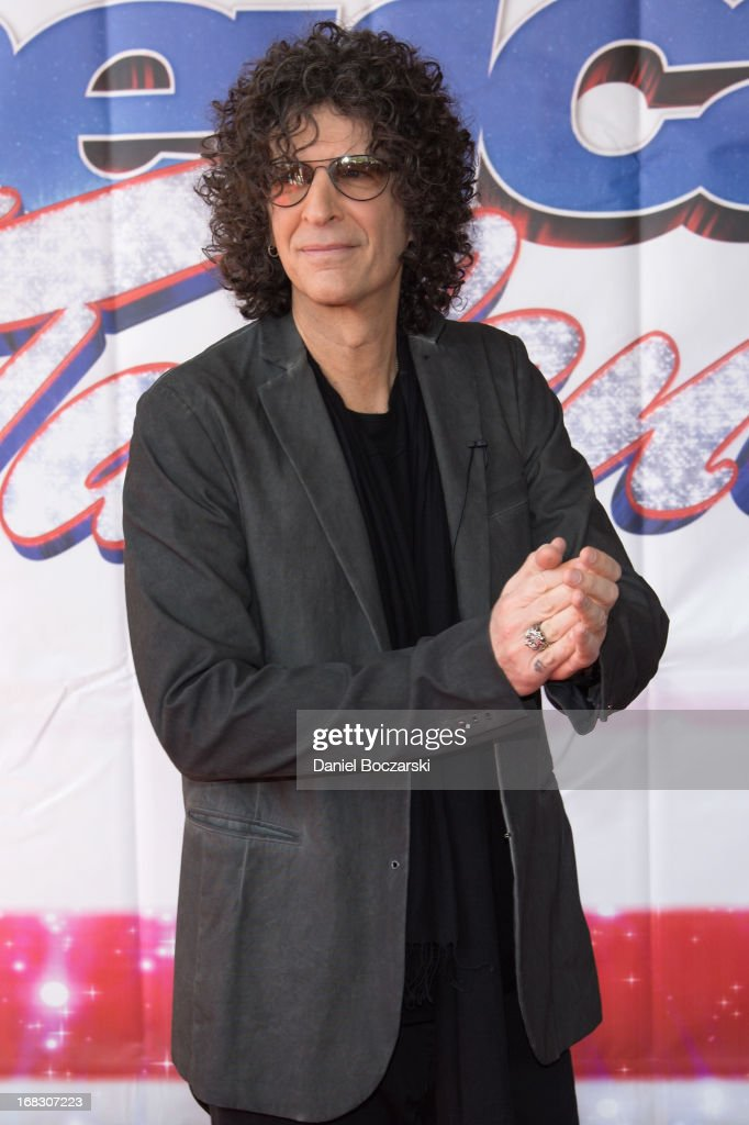 <a gi-track='captionPersonalityLinkClicked' href=/galleries/search?phrase=Howard+Stern&family=editorial&specificpeople=211543 ng-click='$event.stopPropagation()'>Howard Stern</a> attends 'America's Got Talent' Season 8 Meet The Judges Red Carpet Event at Akoo Theatre at Rosemont on May 8, 2013 in Rosemont, Illinois.