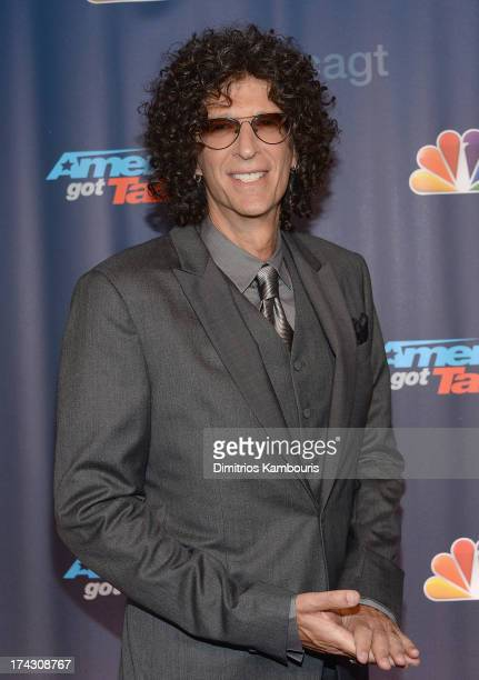 Howard Stern attends 'Americas Got Talent' Season 8 PreShow Red Carpet Event on July 23 2013 in New York United States