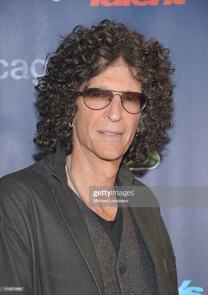 Howard Stern attends 'Americas Got Talent' Season 8 PreShow Red Carpet Event on July 24 2013 in New York City