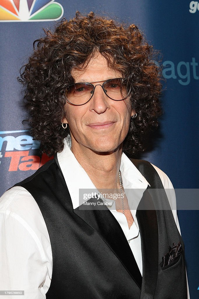 Howard Stern attends 'America's Got Talent' Season 8 Red Carpet Event at Radio City Music Hall on September 4 2013 in New York City