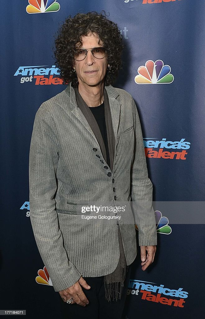 <a gi-track='captionPersonalityLinkClicked' href=/galleries/search?phrase=Howard+Stern+-+Media+Personality&family=editorial&specificpeople=211543 ng-click='$event.stopPropagation()'>Howard Stern</a> attends the 'America's Got Talent' post show red carpet at Radio City Music Hall on August 21, 2013 in New York City.