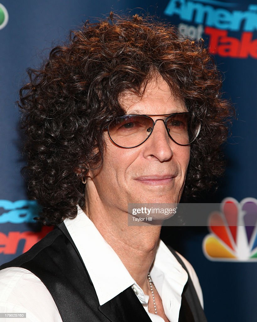 <a gi-track='captionPersonalityLinkClicked' href=/galleries/search?phrase=Howard+Stern+-+Media+Personality&family=editorial&specificpeople=211543 ng-click='$event.stopPropagation()'>Howard Stern</a> attends the 'America's Got Talent' Season 8 Red Carpet Event at Radio City Music Hall on September 4, 2013 in New York City.
