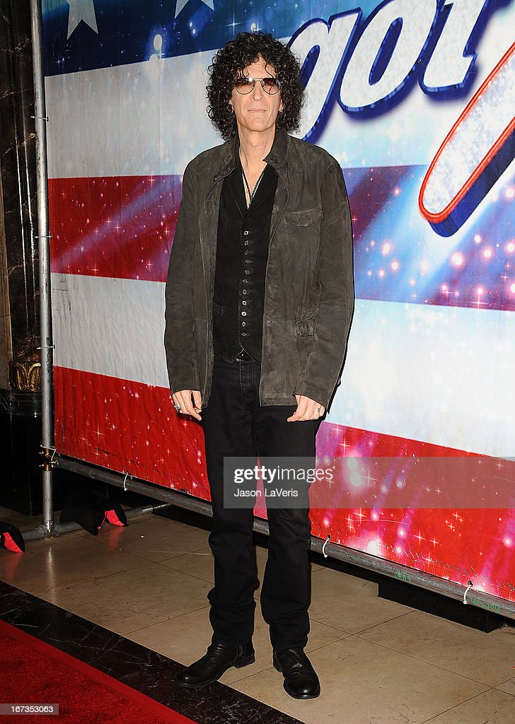 Howard Stern attends the 'America's Got Talent' season eight premiere party at the Pantages Theatre on April 24, 2013 in Hollywood, California.