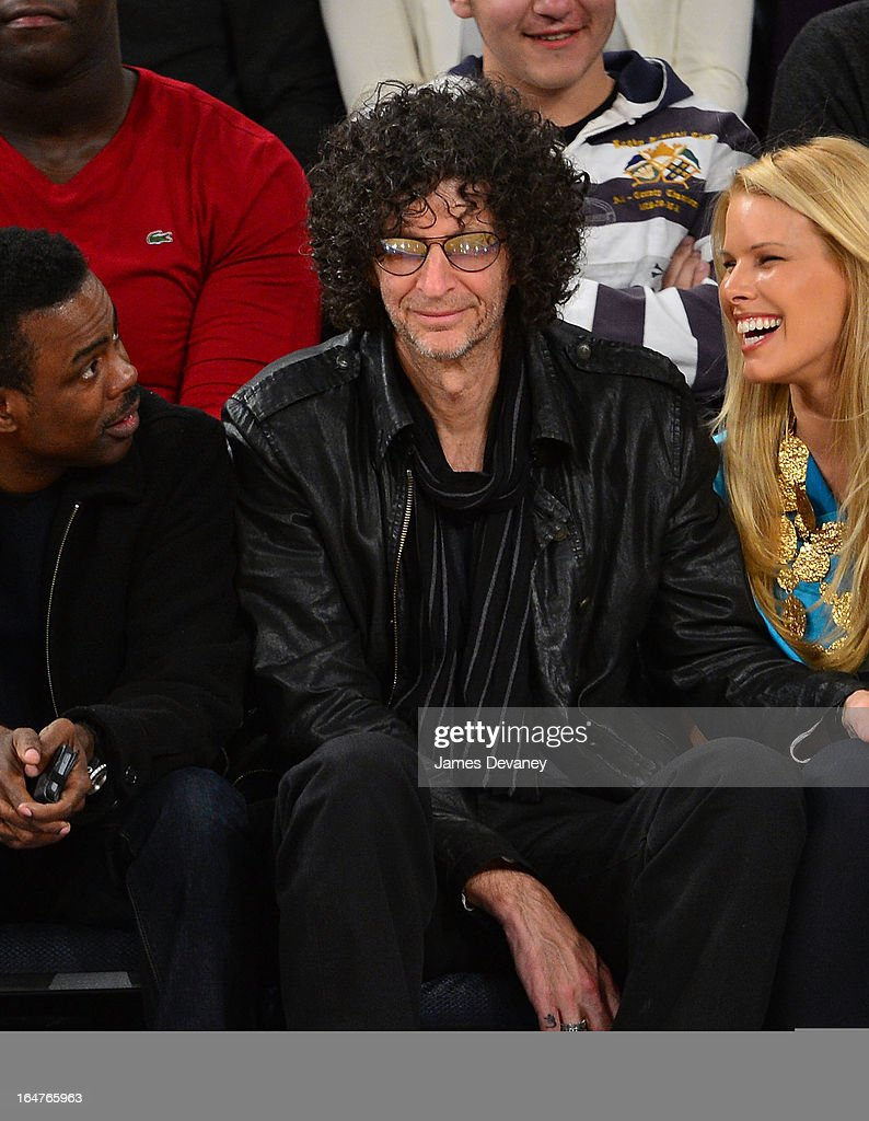 <a gi-track='captionPersonalityLinkClicked' href=/galleries/search?phrase=Howard+Stern+-+Media+Personality&family=editorial&specificpeople=211543 ng-click='$event.stopPropagation()'>Howard Stern</a> attends the Memphis Grizzlies vs New York Knicks game at Madison Square Garden on March 27, 2013 in New York City.