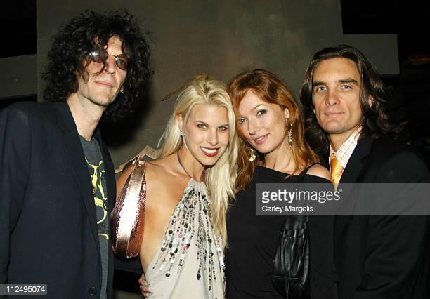 Howard Stern Beth Ostrosky Jo Jo Mulholland and Jamie Mulholland of Cain