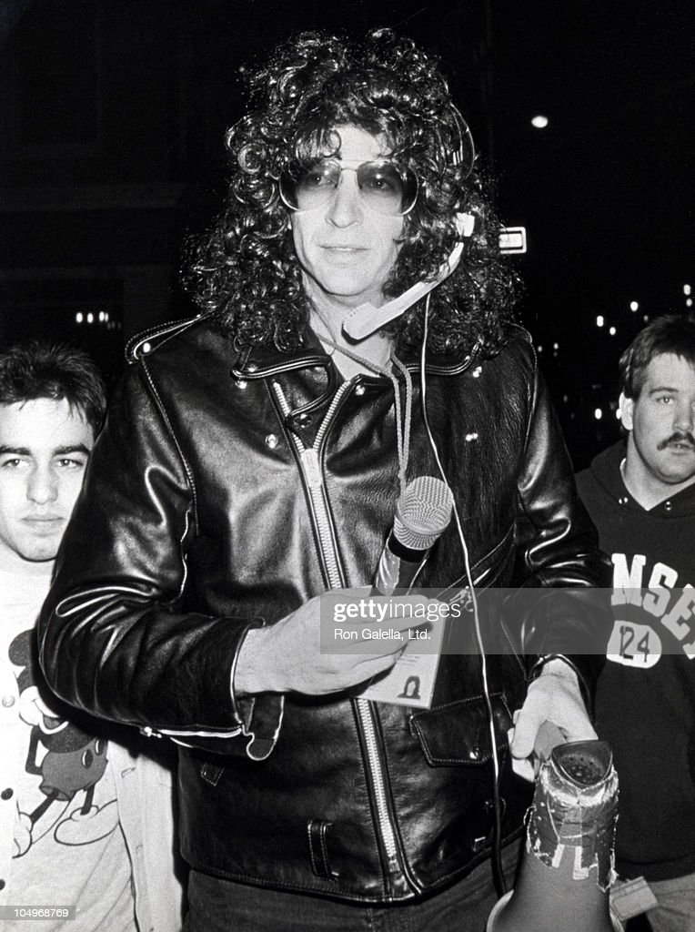 Howard Stern during 30th Annual Grammy Awards at Radio City Music Hall in New York City New York United States