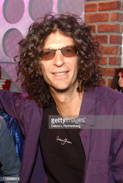 Howard Stern during Howard Stern In The K Rock Studios May 24 2002 at K Rock Studios in New York City New York United States