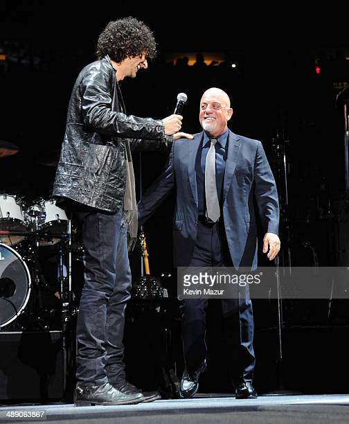 Howard Stern speaks onstage before Billy Joel performs in celebration of his 65th birthday at Madison Square Garden on May 9 2014 in New York City