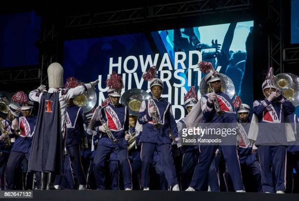 Howard University Marching Band preforms at the #Youtube Black Fest at Crampton Auditorium at Howard University on October 17 2017 in Washington DC