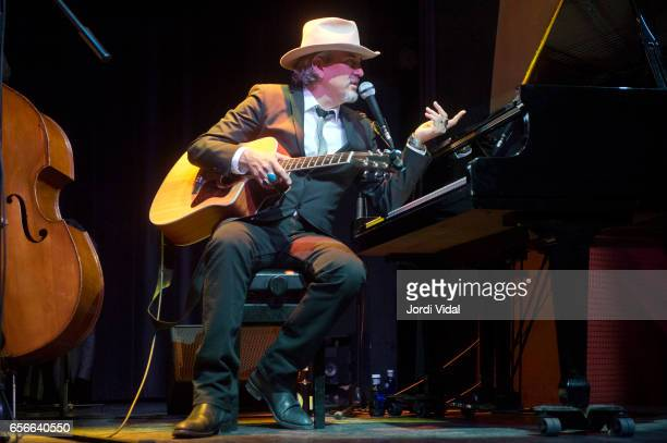 Howe Gelb performs on stage during Festival del Millenni at El Molino on March 22 2017 in Barcelona Spain