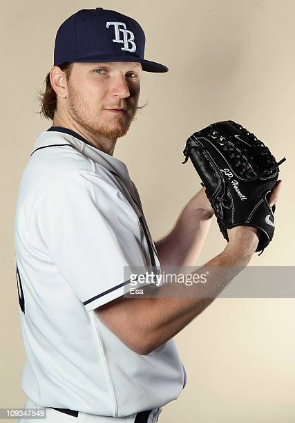 P Howell of the Tampa Bay Rays poses for a portrait during the Tampa Bay Rays Photo Day on February 22 2011 at the Charlotte Sports Complex in Port...