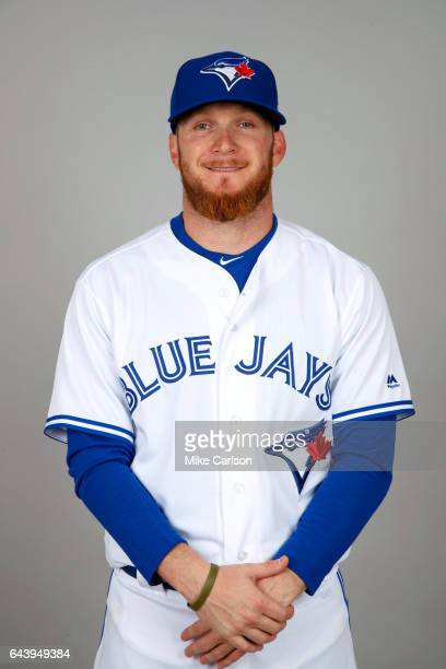 P Howell of the Toronto Blue Jays poses during Photo Day on Tuesday February 21 2017 at Florida Auto Exchange Stadium in Dunedin Florida