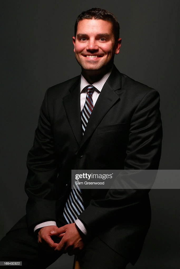 Howie Burke, Director, Sports at Getty Images poses at the World Congress Of Sports Executive Portrait Studio on April 3, 2013 in Naples, Florida.