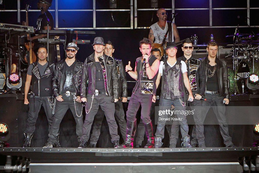 NKOTBSB In Concert In Atlantic City
