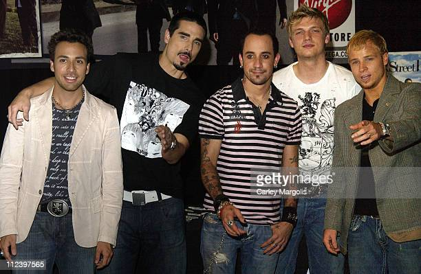 Howie Dorough Kevin Richardson AJ McLean Nick Carter and Brian Littrell of The Backstreet Boys