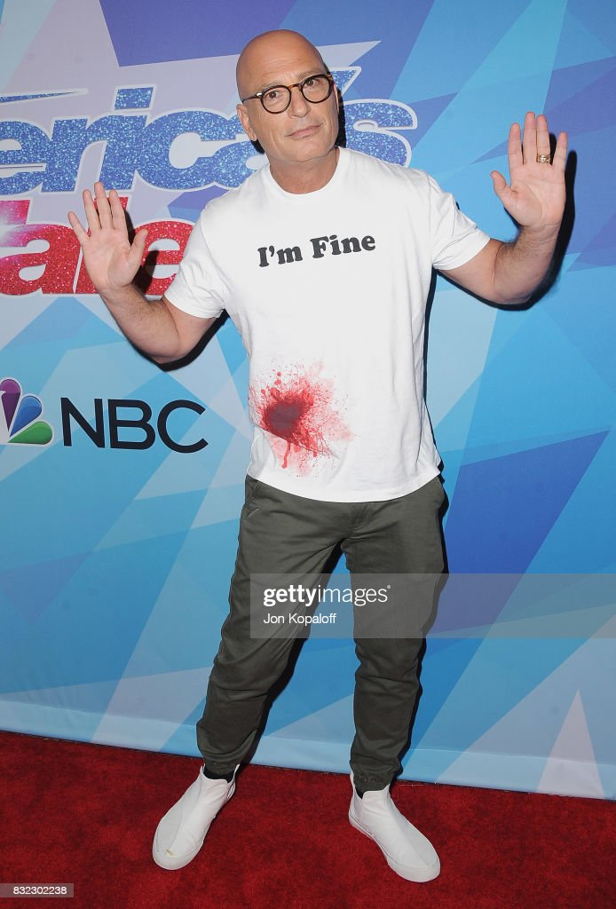Howie Mandel arrives at NBC's 'America's Got Talent' Season 12 Live Show at Dolby Theatre on August 15, 2017 in Hollywood, California.