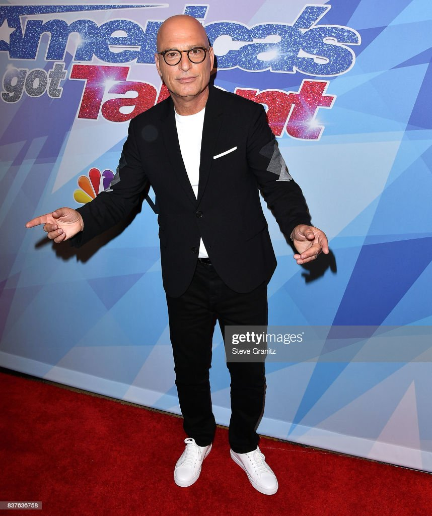 Howie Mandel arrives at the NBC's 'America's Got Talent' Season 12 Live Show at Dolby Theatre on August 22, 2017 in Hollywood, California.