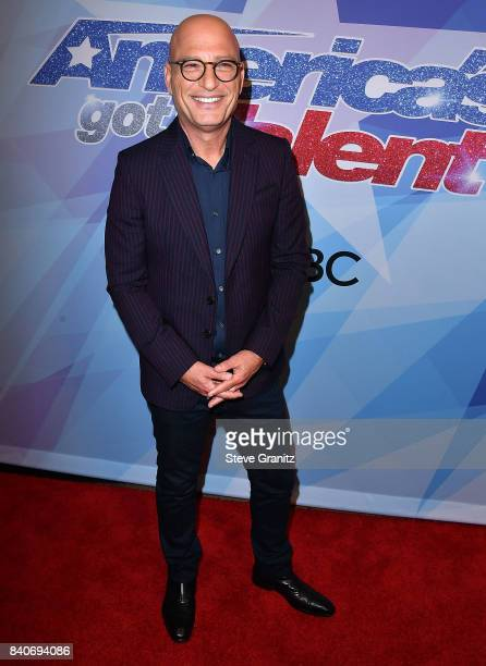 Howie Mandel arrives at the NBC's 'America's Got Talent' Season 12 Live Show at Dolby Theatre on August 29 2017 in Hollywood California